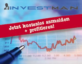 Investman Registrierung